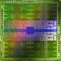 Płytka procesora Nvidia Fermi