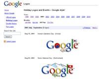 Google przygotowało galerię wszystkich swoich okolicznościowych logo pod adresem www.google.com/logos.