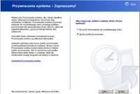 Podróż w czasie - ten moduł przywróci stan Windows z przeszłości, usuwając błędy, które wdarły się do systemu po utworzeniu punktu przywracania.