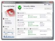 Interfejs G Data Internet Security 2011
