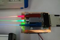 Moduł lasera stosowany w trójwymiarowym telewizorze laserowym firmy HDI