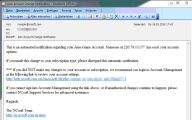 Wiadomość phishingowa - Aion