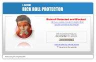 F-Secure Rickroll Protector
