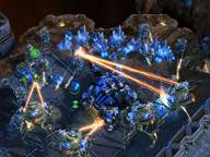 StarCraft 2 - screen z gry
