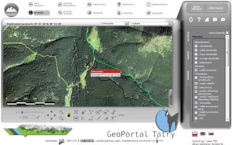 GeoPortal Tatry