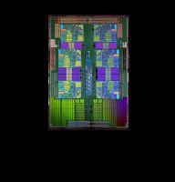 Phenom II X6 1090T - odsłonięty chip