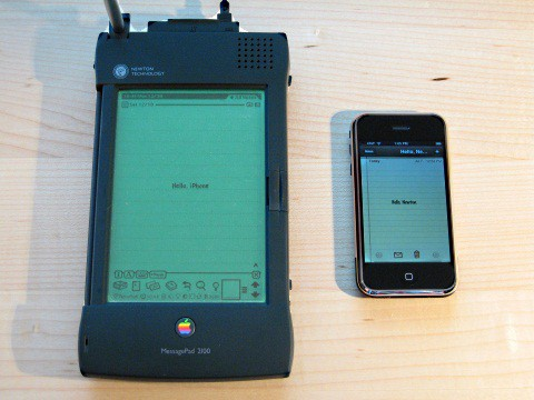 Apple Newton i iPhone