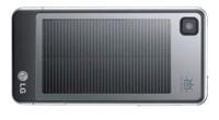 LG GD510 ma wbudowaną baterię słoneczną, dzięki której można doładowywać telefon, korzystając z naturalnej energii.