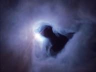 Ta sama plama - czyli dziura w obłoku - na zdjęciu NASA