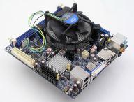 Na małej płycie Intela można zainstalować bardzo wydajne procesory.