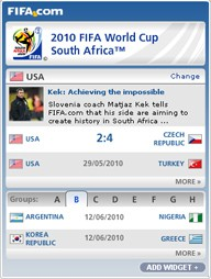 FIFA Worldcup - South Africa 2010