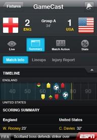 Mistrzostwa świata 2010 w telefonie - darmowe aplikacje dla komórek Nokia, iPhone...