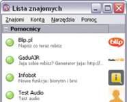 Główny interfejs komunikatora Pidgin