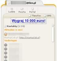 Tlen.pl z uruchomionym Gadu-Gadu