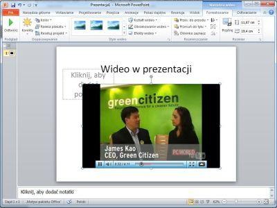 Film w prezentacji, bezpośrednio z Internetu? To możliwe