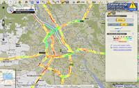 Jeżeli planujesz podróż w okresie dużego natężenia ruchu na drogach, w Targeo uzyskasz informację o aktualnych korkach.