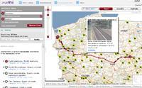Zumi.pl poza wytyczaniem trasy wyświetli także mapę fotoradarów i podgląd obrazu z kamer drogowych.