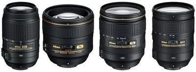 Najnowsze obiektywy Nikon