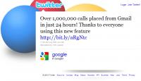 Użytkownicy Gmaila zadzwonili milion razy w ciągu pierwszych 24 godzin