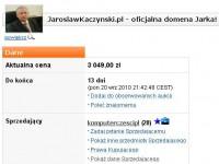 Domena JaroslawKaczynski.pl ponownie na sprzedaż
