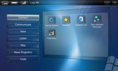 interfejs Touch Pack zwany wcześniej Origami