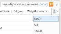 W nowym Hotmailu możesz wyświetlać wiadomości także w trybie konwersacji.