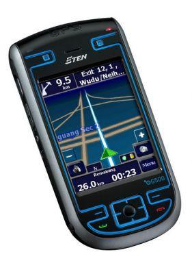 MDA z wbudowanym GPS