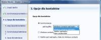 Mobile Master – konfiguracja priorytety synchronizacji kontaktów