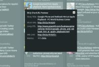 TweetDeck pokaże ci element docelowy skróconego odnośnika URL, zanim go klikniesz.