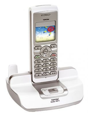 Telefon DECT ze Skype od Topcomu