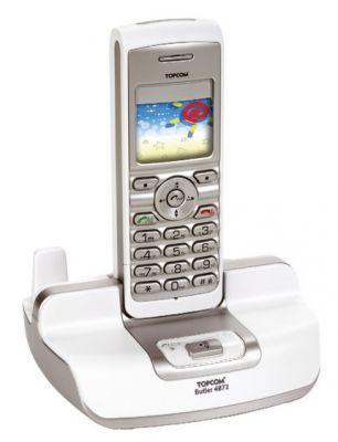 Telefon Butler 4872 USB VoIP pozwalający na prowadzenie rozmów zapośrednictwem sieci Internet bez konieczności używania komputera