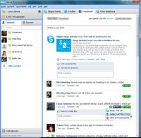 Skype zintegrowany z Facebookiem