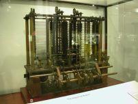 Część maszyny analitycznej Ch. Babbage'a, wystawiona w Muzeum Nauki w Londynie