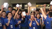Chiński rynek entuzjastycznie przyjmuje urządzenia Apple. Czy sprawa z Proview utrudni rozwój firmy w Państwie Środka?