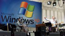 Sting występujący podczas otwarcia Windows XP w 2001 roku.
