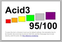 Acid3 - IE9 beta
