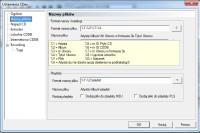 Definiowanie formatu nazewnictwa zgrywanych plików w CDex