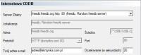 Adres e-mail w konfiguracji bazy CDDB nie musi być prawdziwy