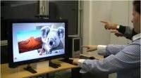 Za pomocą Kinecta używamy przeglądarki internetowej