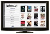 iplex.pl jest serwisem udostępniającym ponad tysiąc filmów. Serwis utrzymuje się z reklam. Na razie dostępny w telewizorach Panasonica.