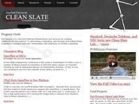 Projekt Clean Slate prowadzony na Uniwersytecie Stanforda to jeden z wielu programów poświęconych opracowaniu architektury nowego Internetu.