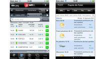 Notowania gięłdowe i prognoza pogody