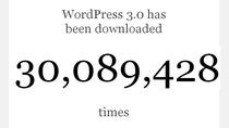 Ponad 30 mln pobrań WordPress 3.0