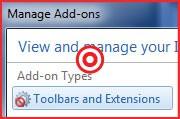 Użyj narzędzia do zarządzania rozszerzeniami w programi Internet Explorer, aby wyeliminować rozszerzenia, które spowalaniają pracę