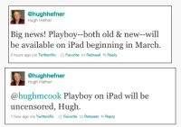 Playboy bez cenzury na iPadzie