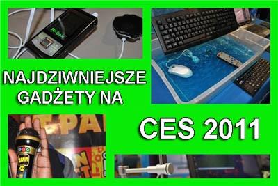 Najdziwniejsze gadżety z CES 2011
