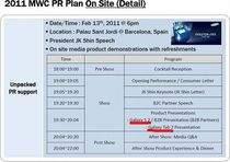 Slajd, który jest dowodem na prezentację Galaxy S 2 i Galaxy Tab 2 podczas MWC (źródło: slashgear.com)