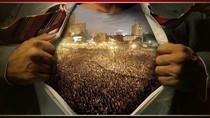 Egipt: jeden z plakatów.