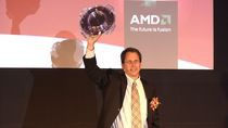 Rick Bergman z AMD prezentuje układy Fusion