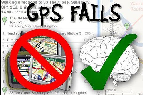 Nie ufaj nawigacji - największe wpadki z GPS